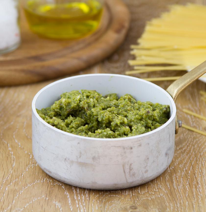 Pesto freschissimo di rucola e olive