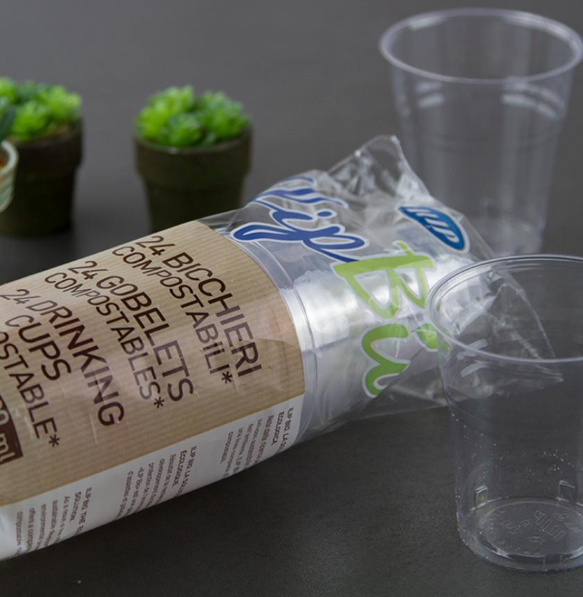 Bicchieri Mater-Bi