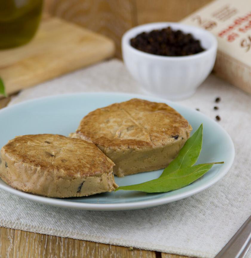 Burger di tofu agli shiitake BIO