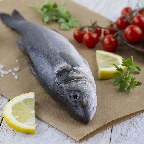 Branzino pescato Italia
