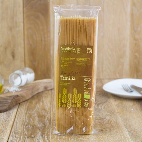 Spaghetti di grano duro Timilia BIO