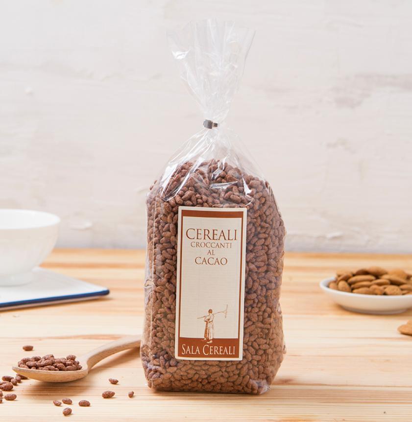 Cereali croccanti al cacao