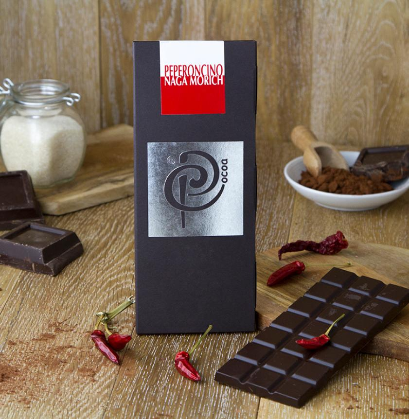 Cioccolato fondente con peperoncino