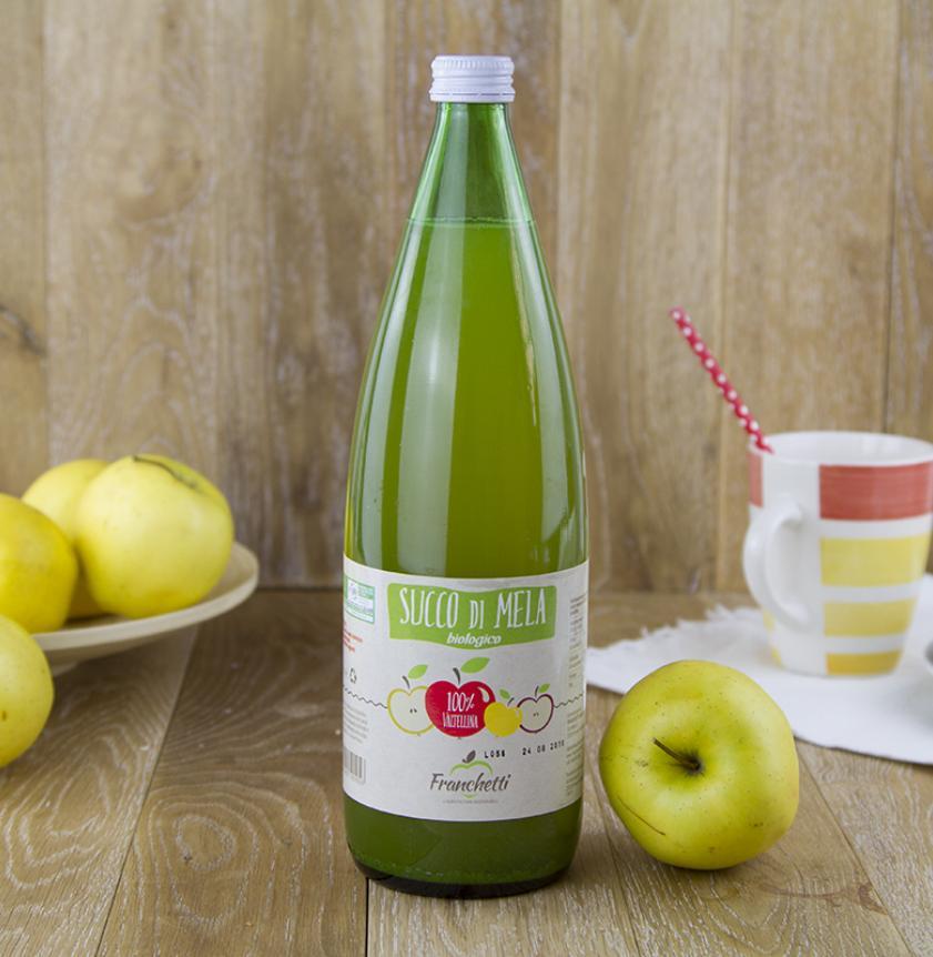 Succo di mele limpido BIO