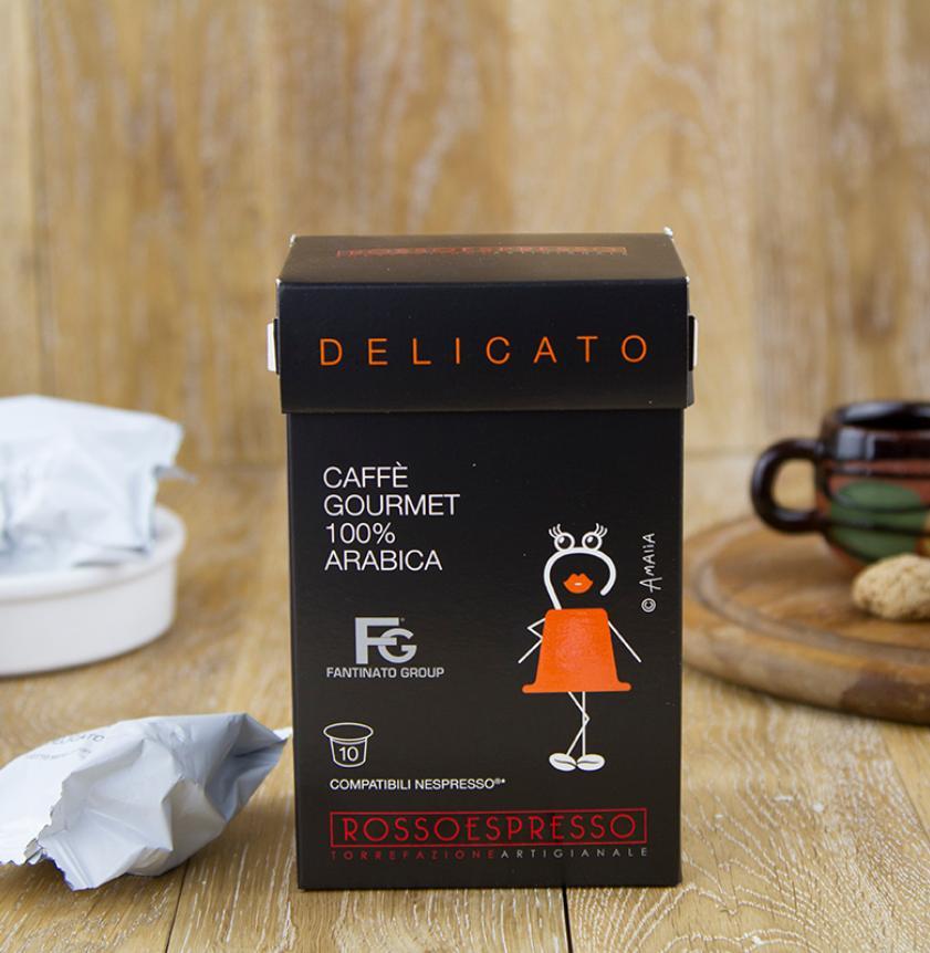 Capsule gourmet caffè Delicato