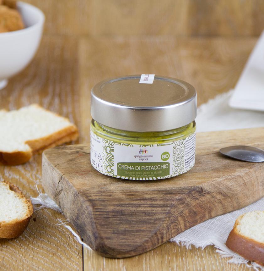 Crema spalmabile di pistacchio BIO