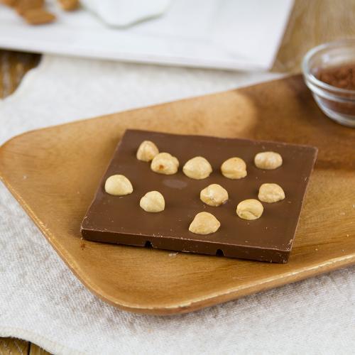 Tavoletta cioccolato al latte e nocciola IGP Piemonte