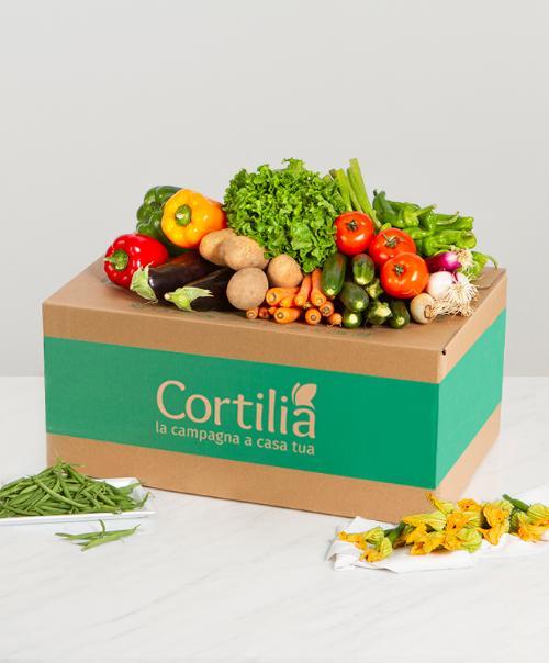 cassetta verdura a domicilio